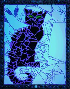 Bruce Wayne (Framed Electric Blue)