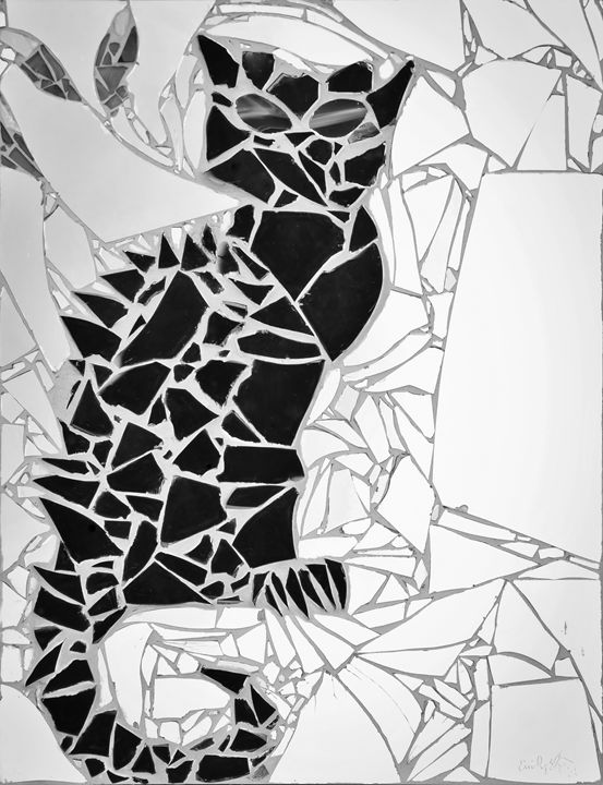Bruce Wayne (Black & White) - Emily Nantz