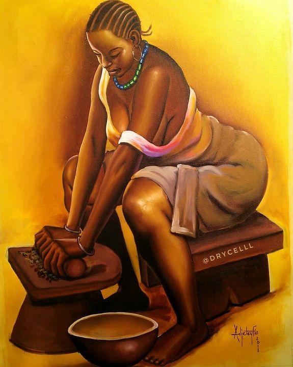 African Woman - Jax McCall Artz