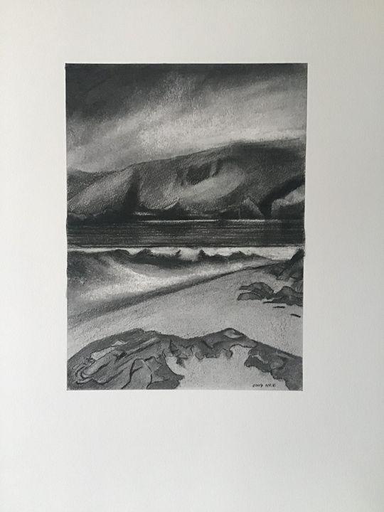 """Praa Sands"" 2019 - Nick Butler Art"