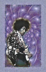 Jimi Hendrix - 11x17 - JH-4