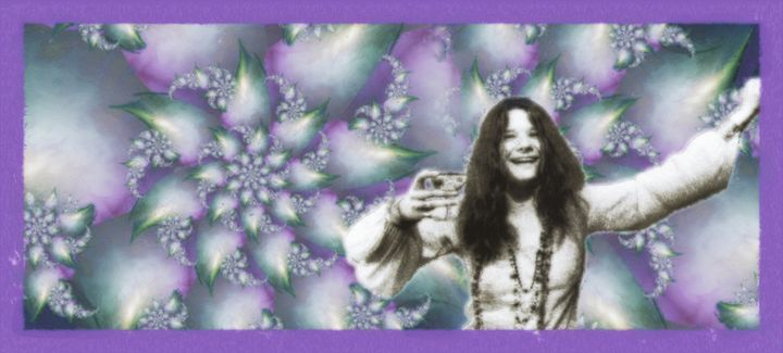 Janis Joplin - 16x7 - JJ-1 - Homespun Galleries