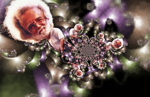 Jerry Garcia - 11x17 - JH-9