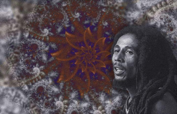 Bob Marley 11X17 - BM-3 - Homespun Galleries