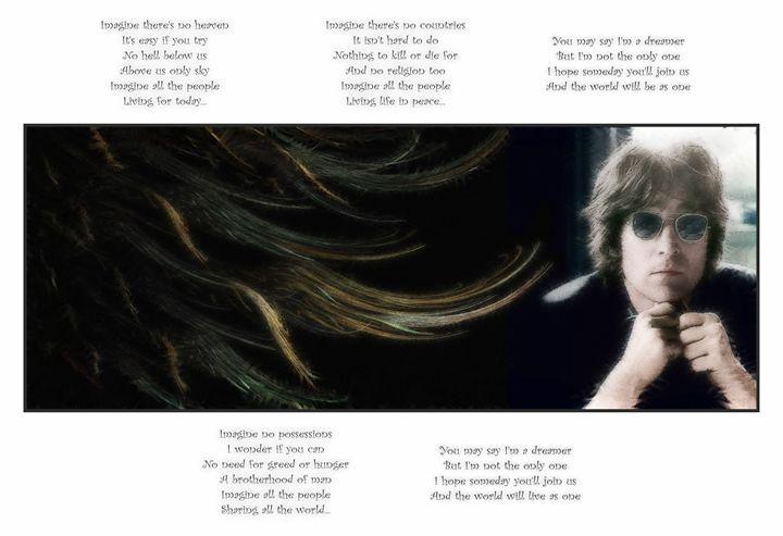 John Lennon 13X19 - JL-1 - Homespun Galleries
