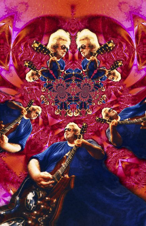 Jerry Garcia - 11X17 - JG-1 - Homespun Galleries