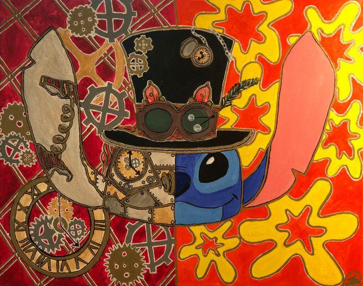 Steampunk Stitch - Taylor Lee Arts