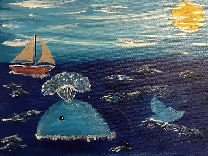 Out to Sea - Taylor Lee Arts