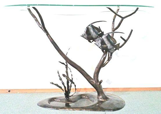 Rotto Bannerfish Table - Wayne Jeffery Iron Art