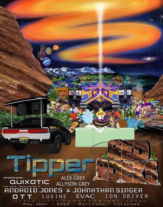 Tipper - Red Rocks - 2015 - Quinnthehuman