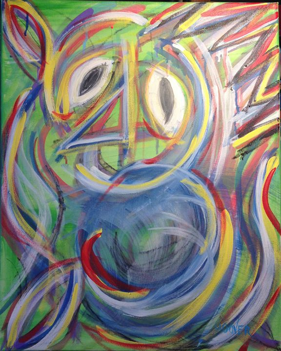 Crown: Nervous - Paintings by JHoover