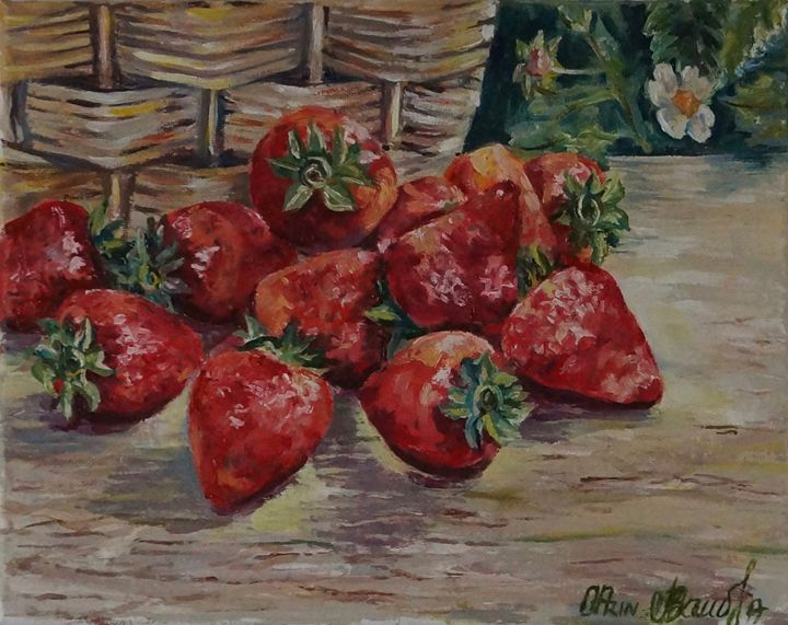 strawberries - Olga Prin