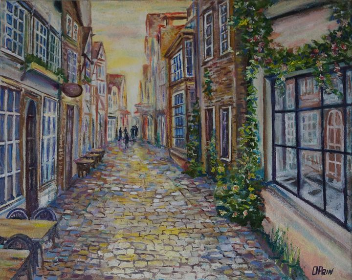 Ancient street - Olga Prin