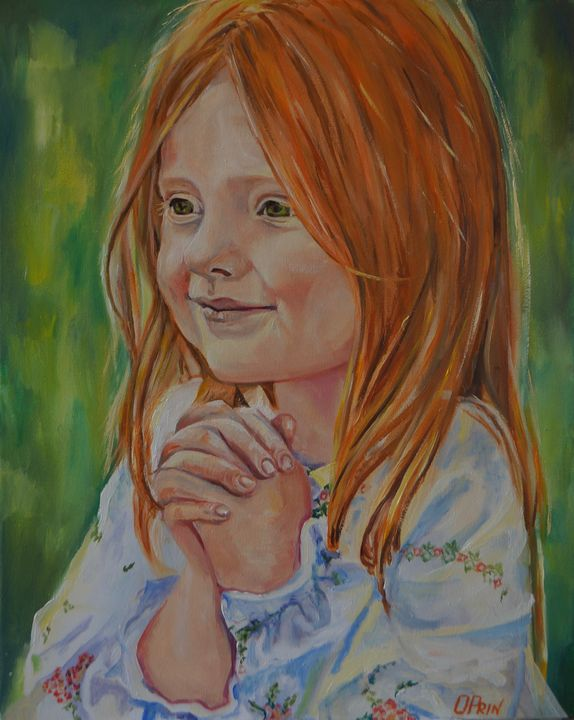 I pray for you. - Olga Prin