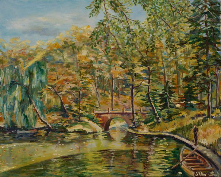 Walk in the park. Autumn. - Olga Prin