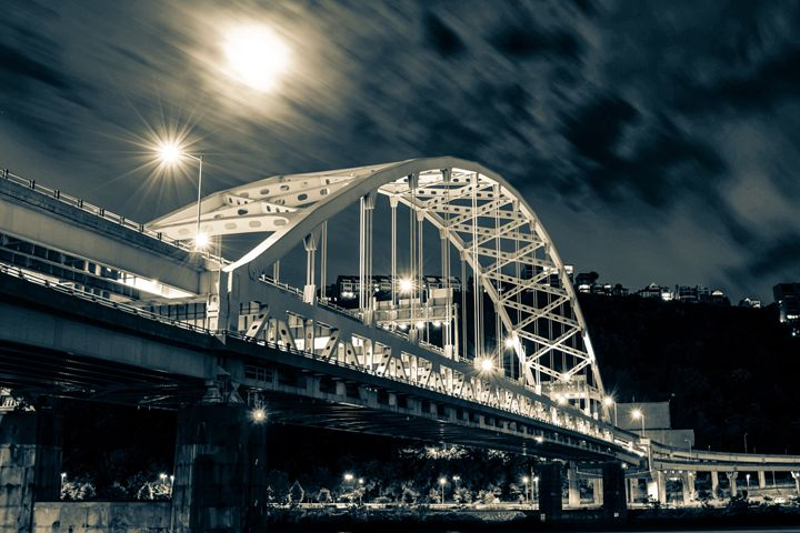 Fort Pitt Bridge - Aaron Zaffuto