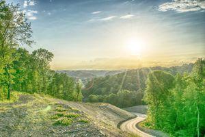 Indiana Township Sunset