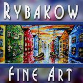 Original Painting by Rybakow
