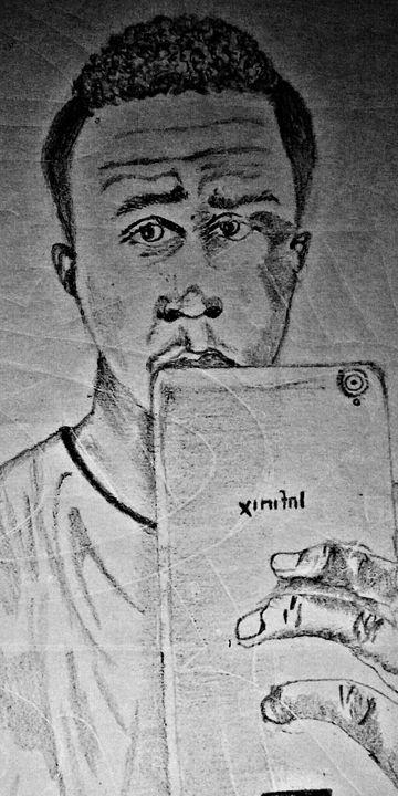 Imaginative portrait - Auden Brian 254 Art