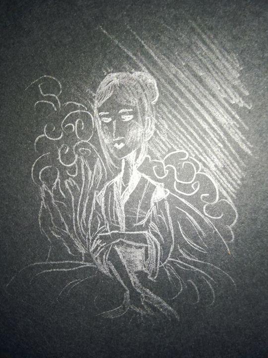 My lady awaits - Phsycome Art