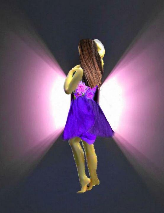 Purple Lady - Syaza