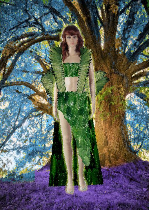 Green Lady - Syaza