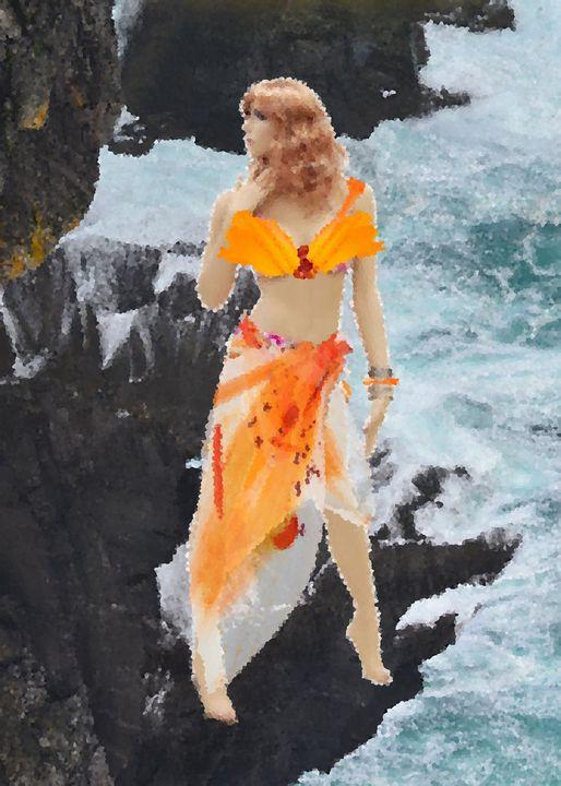 Orange Lady - Syaza