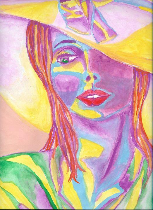 Negative Lady - Phsycome Art