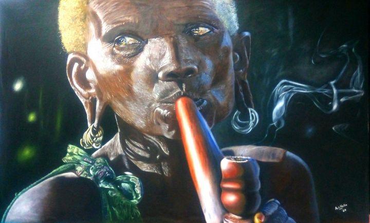 Smoke break - Art-Holic James
