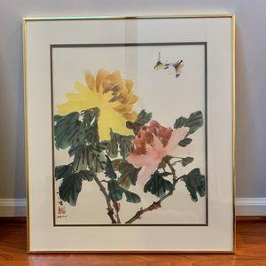 Hui Chi Mau Peonies and Butterflies