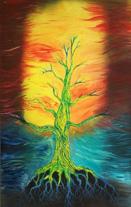 living dead tree - David kelley