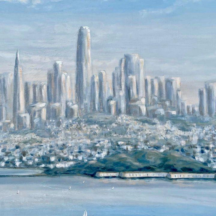 San Francisco from the Headlands - Kirsten Hagen