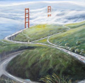 Golden Gate from Above - Kirsten Hagen