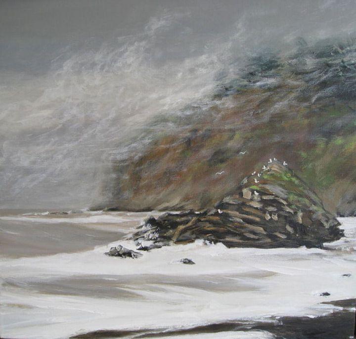 Rock at Muir Beach - Kirsten Hagen