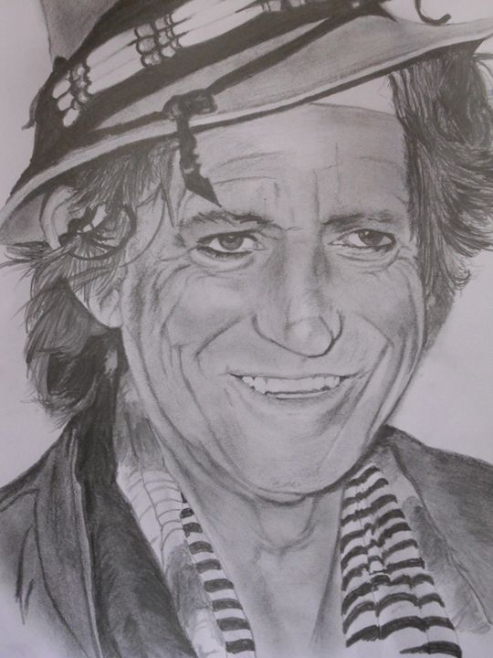 KEITH RICHARDS - darren downes