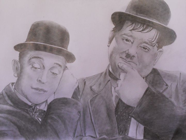 LAUREL AND HARDY - darren downes