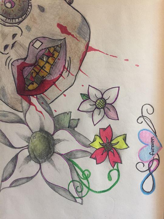 Zombie - Colleen's Art Kart