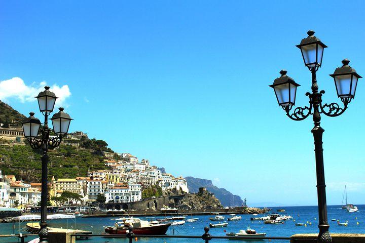 Amalfi Coast Village - Bentivoglio Photography