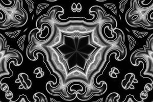 Classic Black and White Fractal