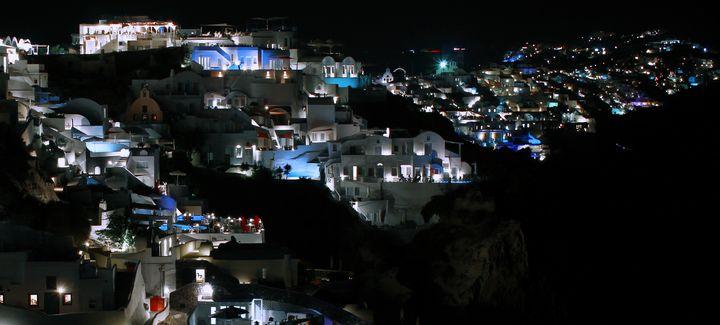 Santorini by Nigth - Bentivoglio Photography