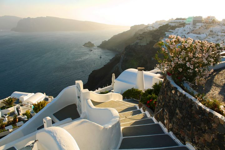 Santorini Sunset - Bentivoglio Photography