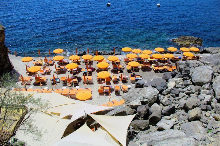 Praiano Beach - Bentivoglio Photography