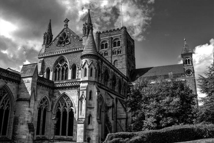 The Cathedral - B&W - Bentivoglio Photography