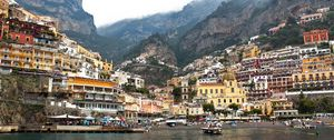 Positano Village Panoramic View