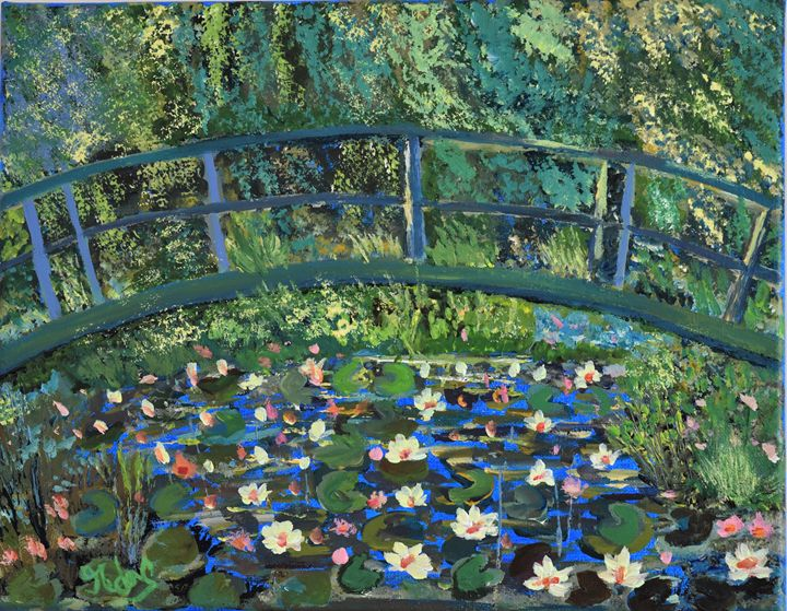 The Pond - Ranjani's art