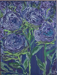 Garden of Blue