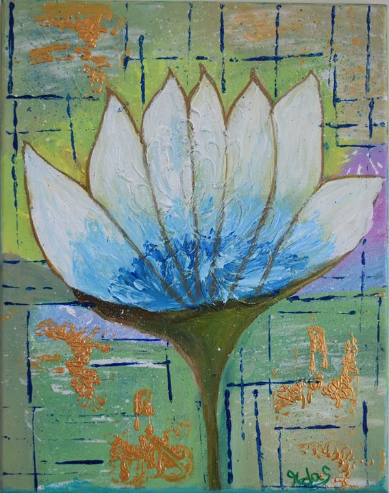 Flower of Peace - Ranjani's art