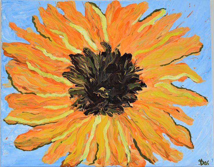 Sunflower - Ranjani's art