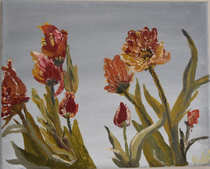 Tulips - Ranjani's art