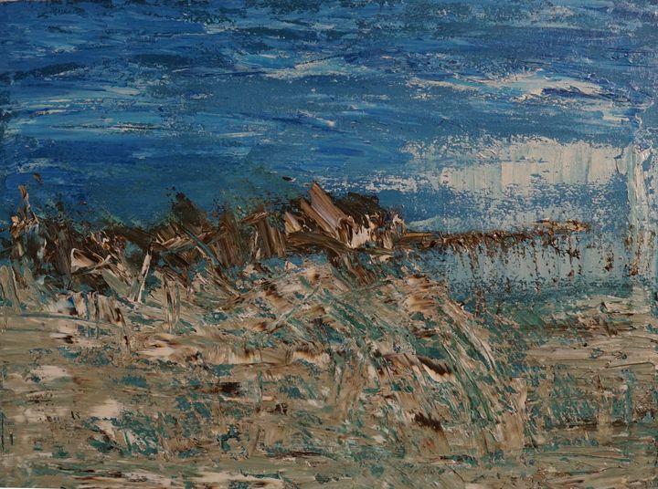 Blue Landscape - Ibne Musa
